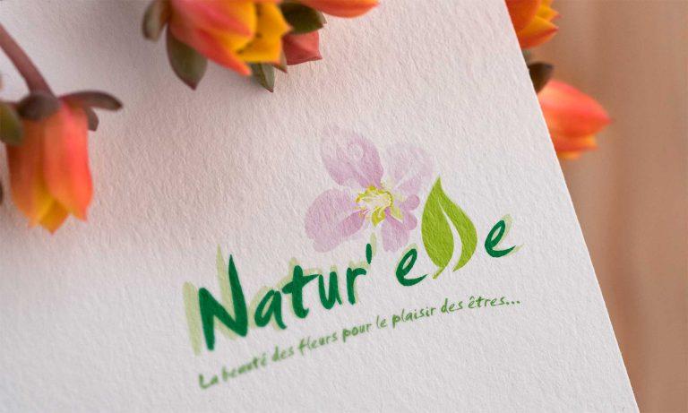 création de logo pour fleuriste