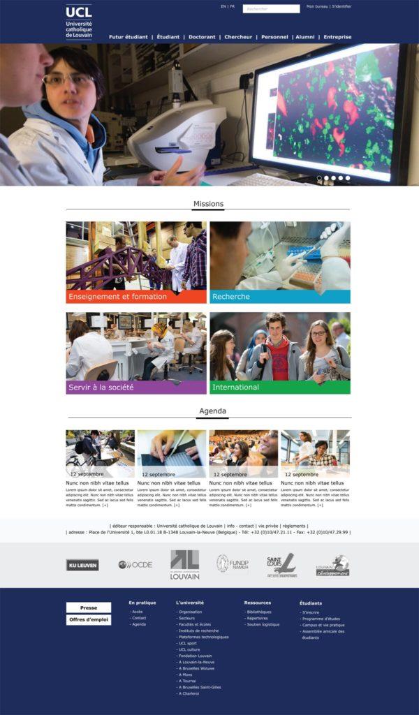 création de site pour école